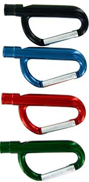 Carabiner whistle