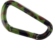 camo carabiner large